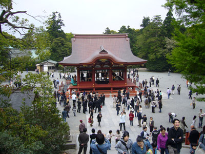 Top view from the shrine