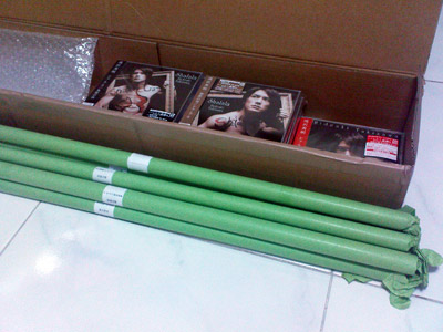 Shalala package from CDJapan