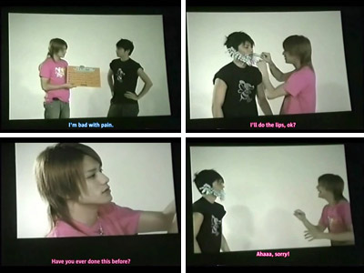 Tackey and Tsubasa - Film Festa 2004 Guinness Challenge English Subs
