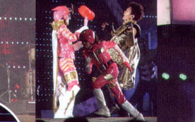 TAKIRANGER with hammer